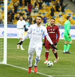 FC Dynamo Kyiv de jeu de ligue de champions d'UEFA v Besiktas Photographie stock libre de droits
