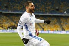 FC Dynamo Kyiv de jeu de ligue de champions d'UEFA v Besiktas photo libre de droits