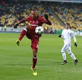 FC Dynamo Kyiv de jeu de ligue de champions d'UEFA v Besiktas photographie stock