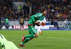 FC Dynamo Kyiv del juego de la liga de campeones de UEFA contra Manchester City Fotos de archivo