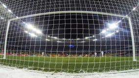 FC Dynamo Kyiv del partido de fútbol v Besiktas almacen de video