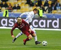 FC Dynamo Kyiv do jogo da liga de campeões de UEFA v Besiktas Fotos de Stock Royalty Free