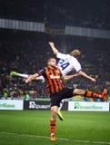 FC Dynamo Kyiv do jogo de futebol contra Shakhtar Donetsk Fotos de Stock