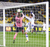 FC Dynamo Kyiv för lek för UEFA-Europaliga vs Bordeaux Royaltyfria Foton