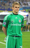 FC Dynamo Kyiv goalkeeper Maxym Koval Royalty Free Stock Photography