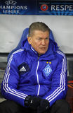 FC Dynamo Kyiv manager Oleg Blokhin Royalty Free Stock Photography