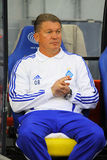 FC Dynamo Kyiv manager Oleg Blokhin Royalty Free Stock Photography