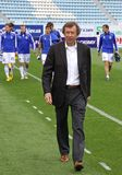 FC Dynamo Kyiv's manager Yuri Semin Stock Photo
