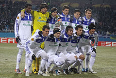 FC Dynamo Kyiv team Royalty Free Stock Photography