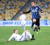 FC Dynamo Kyiv ucraniano do jogo de futebol da primeiro liga contra FC Chor Imagens de Stock