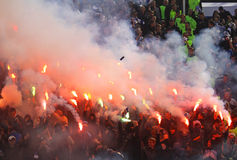 Free FC Dynamo Kyiv Ultras Stock Photos - 13690693
