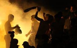 FC Dynamo Kyiv ultras Stock Image