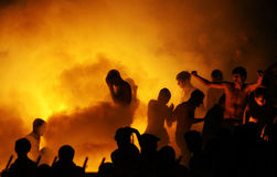 FC Dynamo Kyiv ultras Royalty Free Stock Image