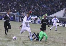 FC Dynamo Kyiv vs Besiktas Royalty Free Stock Photography