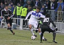 FC Dynamo Kyiv vs Besiktas Royalty Free Stock Image