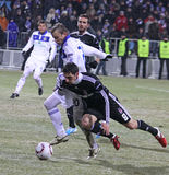 FC Dynamo Kyiv vs Besiktas Royalty Free Stock Photo