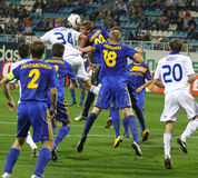 FC Dynamo Kyiv vs FC Bate Royalty Free Stock Photo
