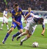 FC Dynamo Kyiv vs FC Bate Stock Image