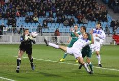 FC Dynamo Kyiv vs FC Obolon Stock Photography