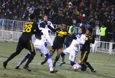 FC Dynamo Kyiv vs Sheriff Tiraspol Royalty Free Stock Images
