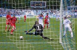 FC Dynamo Kyiv vs Volyn Lutsk Royalty Free Stock Photography