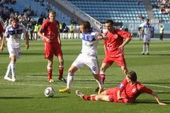 FC Dynamo Kyiv vs Volyn Lutsk Stock Photo