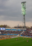 FC Dynamo/Moscow is playing vs FC Spartak/Moscow Royalty Free Stock Photos