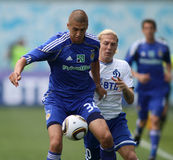 FC Dynamo Moscow vs. FC Dynamo Kyiv Stock Photos