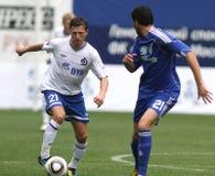 FC Dynamo Moscow vs. FC Dynamo Kyiv Royalty Free Stock Images