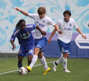 FC Dynamo Moscow vs. FC Dynamo Kyiv Stock Photos