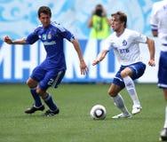 FC Dynamo Moscow vs. FC Dynamo Kyiv Stock Image