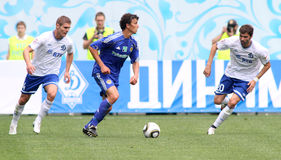 FC Dynamo Moscow vs. FC Dynamo Kyiv Stock Photo