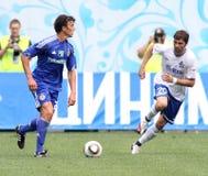 FC Dynamo Moscow vs. FC Dynamo Kyiv Royalty Free Stock Photos