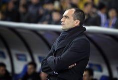 FC Everton manager Roberto Martínez Stock Photo