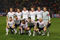 fc futbolowa Liverpool drużyna zdjęcie royalty free