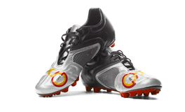 FC Galatasaray - Fußballstiefel Stockfotografie