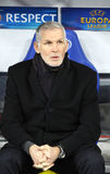 FC Girondins de Bordeaux manager Francis Gillot Royalty Free Stock Image