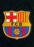 FC het Kenteken van Barcelona Stock Foto's