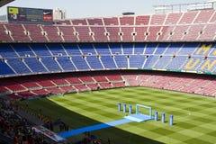 FC het stadion van Barcelona Stock Foto's