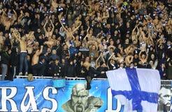 FC het teamverdedigers van Kyiv van de dynamo Stock Afbeeldingen