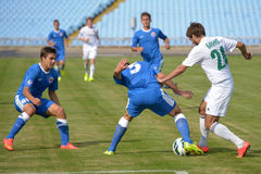 FC Illychivets vs FC Vorskla.  Ukrainian Cup Royalty Free Stock Image