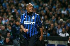 FC Internazionale Mailand Maicon Stockbild