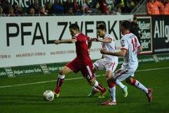 1FC Kaiserslautern e 1FC Koln Fotografie Stock Libere da Diritti