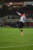 1 FC Kaiserslautern en 1FC Koln Stock Foto's
