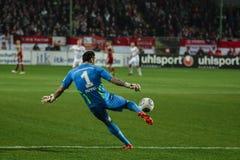 1 FC Kaiserslautern en 1FC Koln Royalty-vrije Stock Foto's