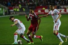 1FC Kaiserslautern en 1FC Koln Royalty-vrije Stock Afbeelding
