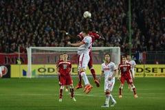 1FC Kaiserslautern en 1FC Koln Stock Foto