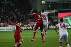 1FC Kaiserslautern et 1FC Koln Photographie stock