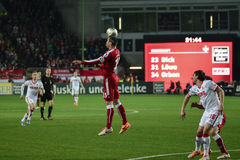 1FC Kaiserslautern and 1FC Koln Royalty Free Stock Photos