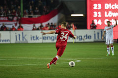 1 FC Kaiserslautern and 1FC Koln Royalty Free Stock Images